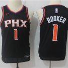 Youth Devin Booker Phoenix Suns #1 Basketball Jersey black