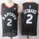 Men's Toronto Raptors #2 Kawhi Leonard jersey black stitched