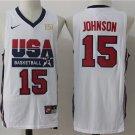 Magic Johnson  1992 Olympic USA Dream National Team #15 basketball jersey