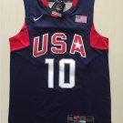 Men's Kobe Bryant USA National Team 10 Basketball jersey navy blue