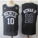 Men's Neymar JR PSG Paris Saint-Germain basketball jersey black