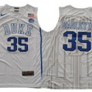 MEN'S Marvin Bagley III Duke Blue Devils college Jersey White