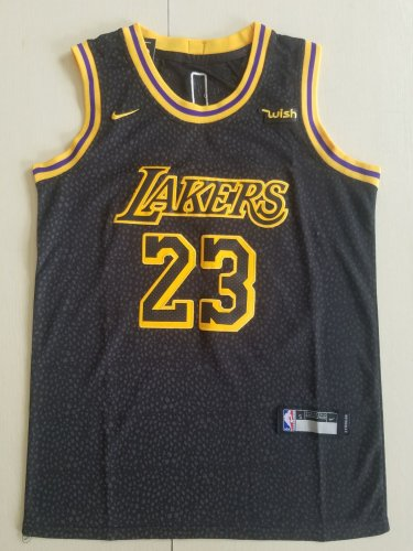 huge selection of 1e5fd 80288 Youth boys lebron James lakers jersey black