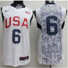 Lebron James 2008 Olympics Game  USA  National Team #6  jersey