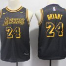 Youth boys Kobe Bryant basketball  jersey black