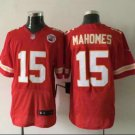 mens  KC Chiefs 15 Patrick Mahomes elite Jersey red