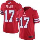 mens Buffalo Bills #17 Josh Allen color rush Jersey red