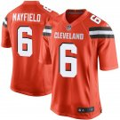 Mens Cleveland Browns #6 Baker Mayfield  game  Jersey orange