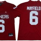Mens Baker Mayfield Sooners college  Jersey red