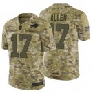 Men's Bills 17 Josh Allen 2019 salute to service limited jersey camo