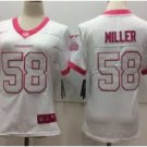 Women's  Von Miller  jersey white fashion