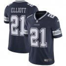 Men's Ezekiel Elliott  Dallas Cowboys Color rush limited jersey navy blue