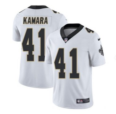 wholesale dealer e05f6 b1189 Men's Saints #41 Alvin Kamara color rush limited Jersey white