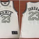 Men's Michael Jordan PARIS  jersey WHITE