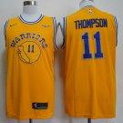 Men's Klay thompson  jersey YELLOW