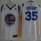 Men's Warriors #35 Kevin Durant  jersey  white