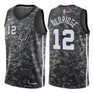 Men's San Antonio Spurs #12 LaMarcus Aldridge Camouflage  Jersey