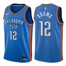 Men's Oklahoma City Thunder #12 Steven Adams Jersey blue