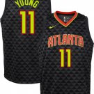 Youth boys Atlanta Hawks #11 Trae Young Jersey icon edition