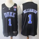 Men's  Zion Williamson Duke Devils college  jersey black