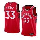 Men's Marc Gasol Toronto Raptors    jersey red