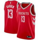 Men's James Harden Houston  Rockets #13  red jersey icon edition