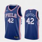 Men's Al Hoford Phliadelphia 76ERS  #42  jersey Sixers jersey blue