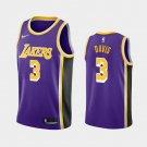 Men's  Anthony Davis Los Angeles Lakers #3 statement edition JERSEY purple