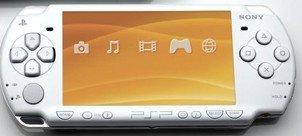 "Sony PSP New ""Slim"" System - White Color"
