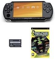 "Sony PSP ""Slim Value Bundle"" - 21 Games and 32mb Memory Card (Black)"