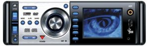 """Pyle PLD58MUT AM/FM-MPX DVD/VCD/CD/MP3 Disc Player w/3.6"""" LCD Screen & TV Tuner"""
