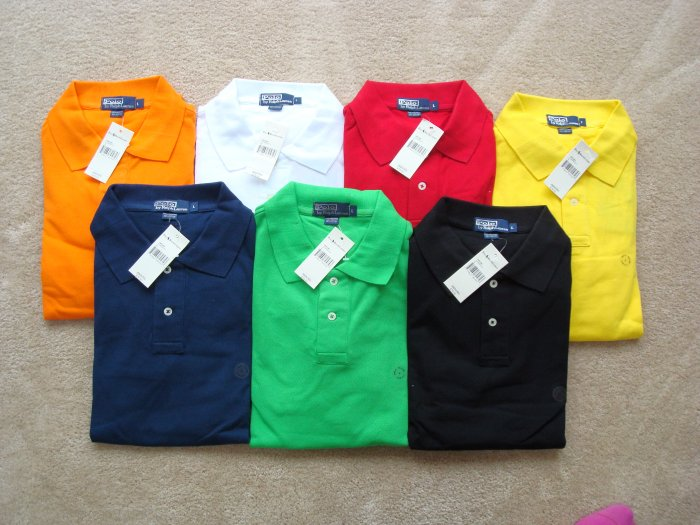 Ralph Lauren classic polo Long sleeve 100 wholesale NWT