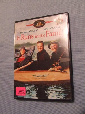 It Runs in the Family  used DVD $ 3.00 shipping included