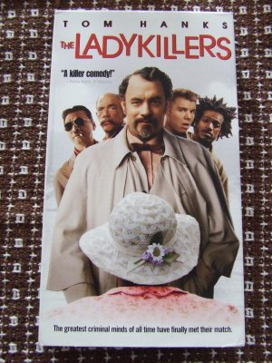 """""""The Ladykillers"""" used VHS a comedy starring tom Hanks  3.00 shipping included"""