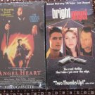 VHS pair. Angel Heart and Bright Angel used $5.00 shipping included