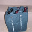 6 Bottle Fabric Wine Tote