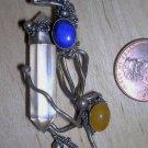 Stunning freeform crystal pendant