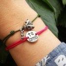 Te Amo bracelet, i love you bracelet, silver