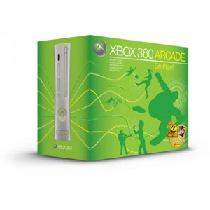 New Xbox 360 Video Game Arcade Bundle With 7 Games