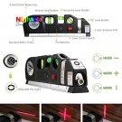 8FT Multipurpose Horizon Vertical Measure Laser Level Measure Aligner Standard and Metric Rulers