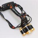 IR Sensor Zoom 12000 lumens LED Headlamp XML T6 Head Torch Flashlight