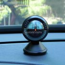Multifunction Car Vehicle Declinometer Gradienter Dashboard Mount Compass
