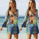 Women Sarong Bathing Suit Beach tunic Cover-Up Pareo