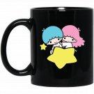 Little Twin Stars Dream Galaxy Pocket Black  Mug Black Ceramic 11oz Coffee Tea Cup