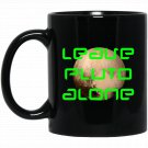 Leave Planet Pluto Alone Science Space Astronomy (2) Black  Mug Black Ceramic 11oz Coffee Tea Cup