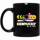 KENTUCKY - total solar eclipse glasses 2017 Black  Mug Black Ceramic 11oz Coffee Tea Cup