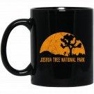 Joshua Tree National Park Hiking Camping Keepsake Black  Mug Black Ceramic 11oz Coffee Tea Cup