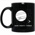 Inspirational Juno Spacecraft Space Exploration Black  Mug Black Ceramic 11oz Coffee Tea Cup