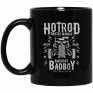 Hotrod americas badboy Black  Mug Black Ceramic 11oz Coffee Tea Cup
