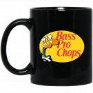 Bass Pro Chops Bassist Black  Mug Black Ceramic 11oz Coffee Tea Cup